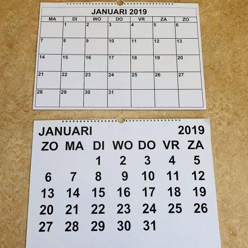 maandkalenders